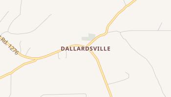 Dallardsville, Texas map