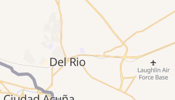 Del Rio, Texas map