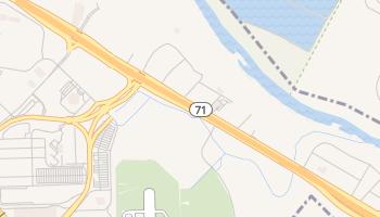 Del Valle, Texas map