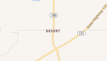 Desert, Texas map