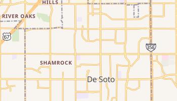 DeSoto, Texas map