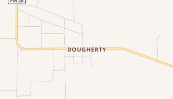 Dougherty, Texas map
