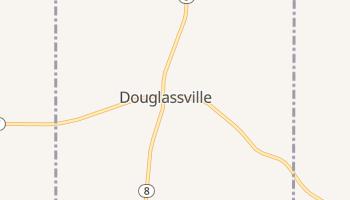 Douglassville, Texas map