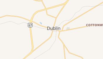 Dublin, Texas map