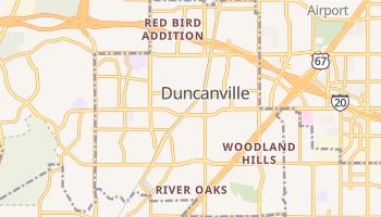 Duncanville, Texas map