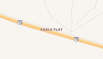 Eagle Flat, Texas map