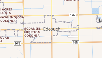 Edcouch, Texas map