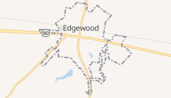 Edgewood, Texas map