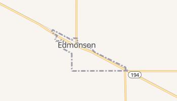 Edmonson, Texas map