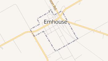 Emhouse, Texas map