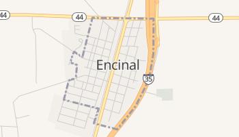 Encinal, Texas map
