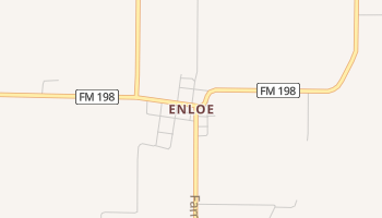 Enloe, Texas map