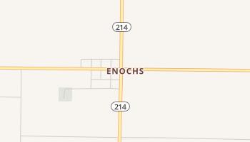 Enochs, Texas map