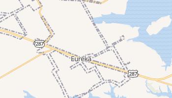 Eureka, Texas map