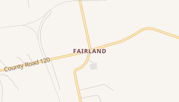 Fairland, Texas map