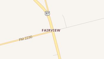 Fairview, Texas map