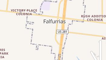 Falfurrias, Texas map