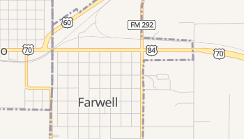Farwell, Texas map