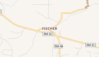 Fischer, Texas map