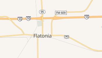 Flatonia, Texas map