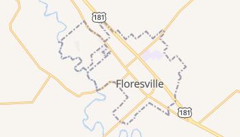 Floresville, Texas map