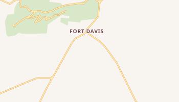 Fort Davis, Texas map