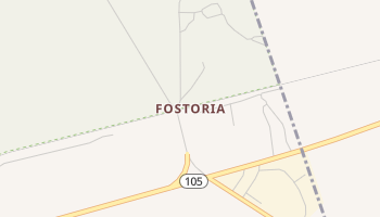 Fostoria, Texas map
