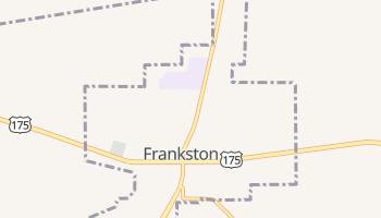 Frankston, Texas map