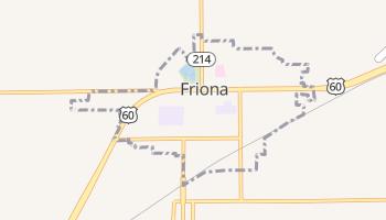Friona, Texas map