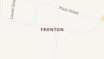 Fronton, Texas map