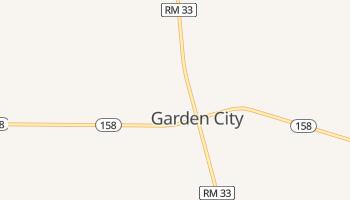 Garden City, Texas map