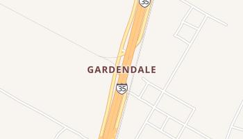 Gardendale, Texas map