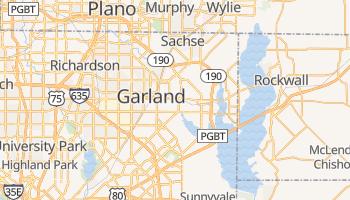 Garland, Texas map