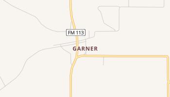 Garner, Texas map