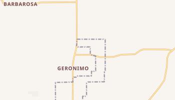 Geronimo, Texas map