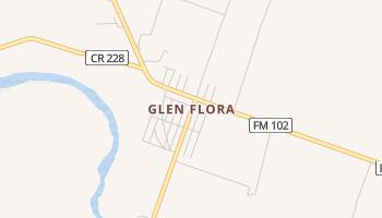 Glen Flora, Texas map