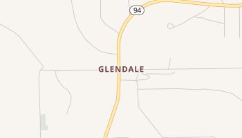 Glendale, Texas map