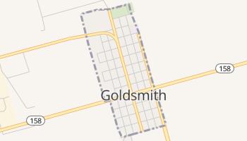 Goldsmith, Texas map