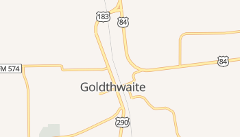Goldthwaite, Texas map