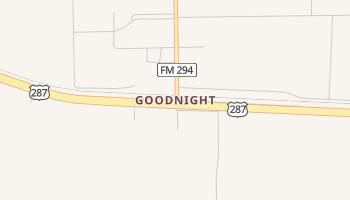 Goodnight, Texas map
