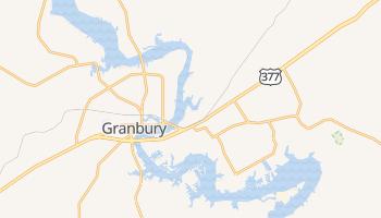 Granbury, Texas map