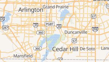 Grand Prairie, Texas map