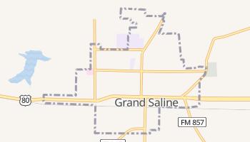 Grand Saline, Texas map