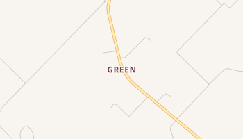Green, Texas map