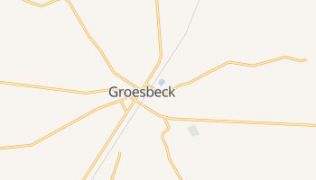 Groesbeck, Texas map