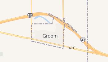 Groom, Texas map