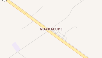 Guadalupe, Texas map