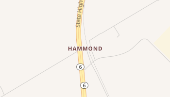 Hammond, Texas map
