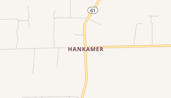 Hankamer, Texas map
