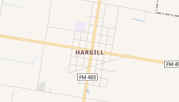 Hargill, Texas map